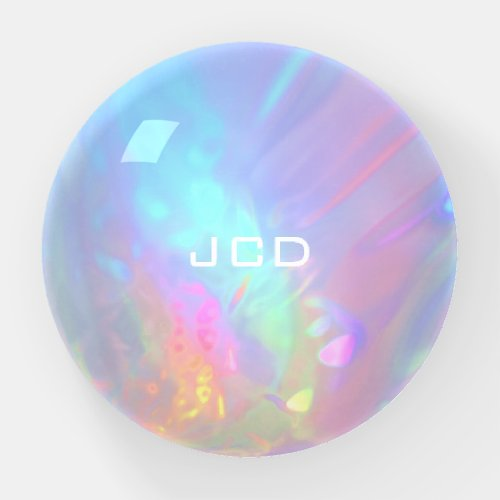 Opal Rock Personalized Paperweight