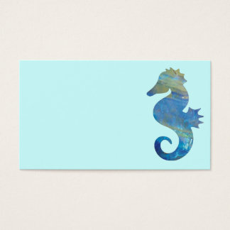 Opal Sea Horse Business Cards