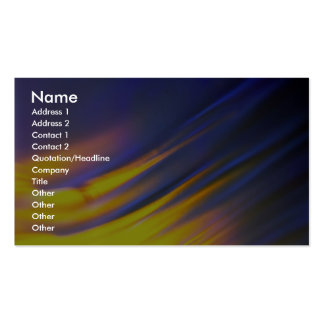 Opalescent diagonal wisp Double-Sided standard business cards (Pack of 100)