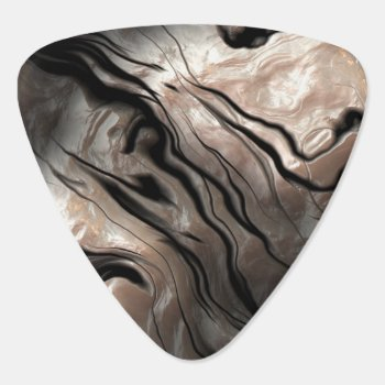 Opalescent Mother-of-pearl Effect Guitar Pick by missprinteditions at Zazzle
