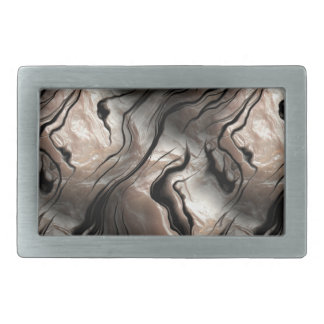 Opalescent Mother-of-Pearl Effect Rectangular Belt Buckle