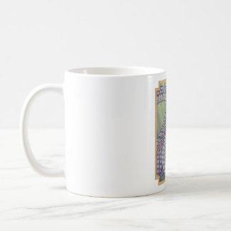 Opalescent sargassum dragon mug mug