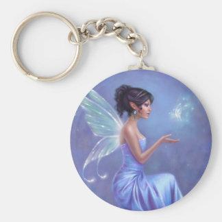 Opalite Fairy Keychain