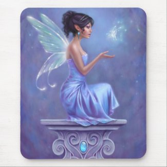 Opalite Fairy Mousepad mousepad