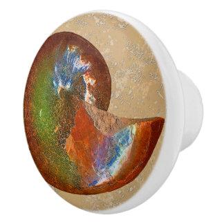 Opalized Sphenodiscus Lenticularis Ammonite Knobs
