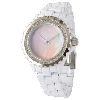 Ópalo precioso relojes de pulsera