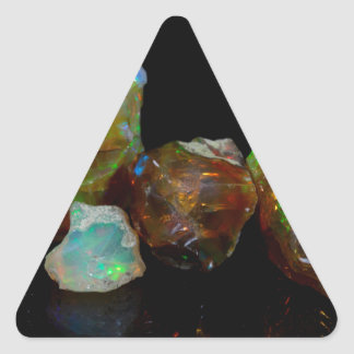 Opals Triangle Sticker