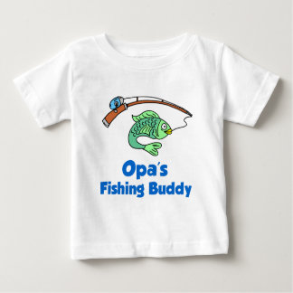 Opa's Fishing Buddy Infant T-shirt