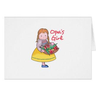 OPAS GIRL GREETING CARDS