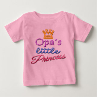 Opa's Little Princess Baby Toddler T-Shirt