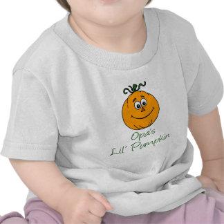 Opa's Little Pumpkin Tshirts