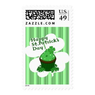 O'Patty Cake - Happy Saint Patrick's Day Postage Stamps