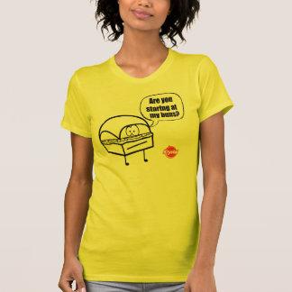 Opción de Krystal - mirada fija del bollo Camisetas