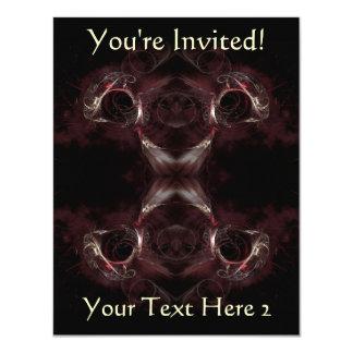 """Opción de la dirección, diseño del arte del invitación 4.25"""" x 5.5"""""""