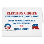Opción de la elección - desempleo tarjeta