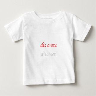 Opción de la palabra: discreto-discreto t shirts