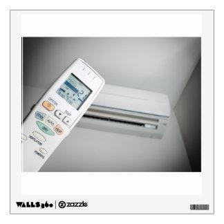 Opción del aire acondicionado vinilo adhesivo