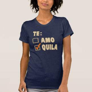 Opción del español del Tequila de Te Amo Remera