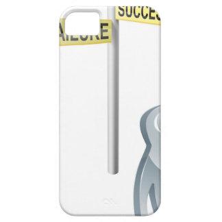 Opción del éxito o del fracaso funda para iPhone 5 barely there