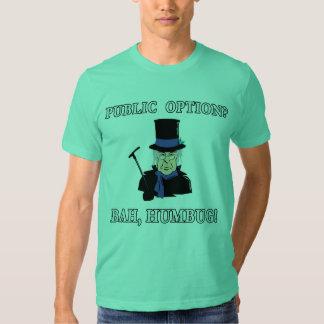 ¿Opción pública? ¡Bah, embaucamiento!  Camiseta de Polera