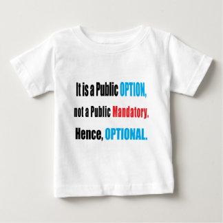 Opción pública tshirts