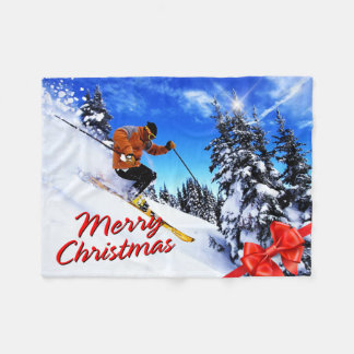 Opciones 20 de las Felices Navidad Manta De Forro Polar