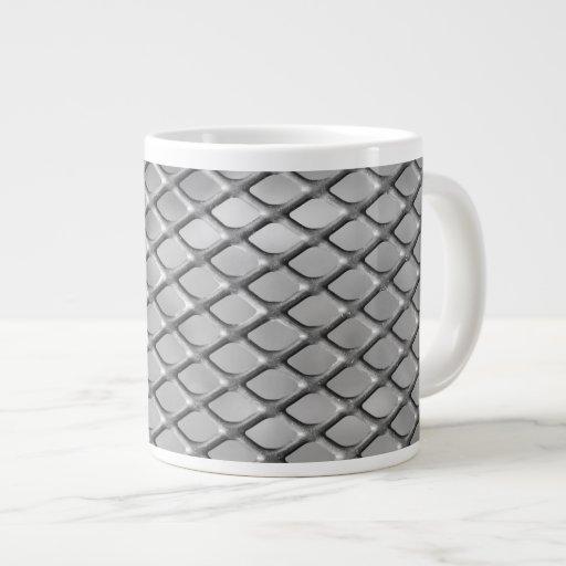 Opciones abstractas de las tazas de la textura 1 tazas extra grande