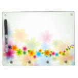 Opciones de la decoración 54 de la flor pizarras blancas