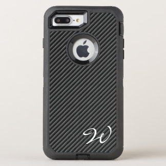 Opciones de la imagen de la fibra de carbono 1-2 funda OtterBox defender para iPhone 7 plus