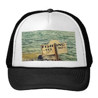 Opciones de la pesca gorro