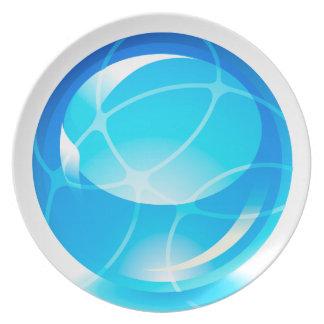 Opciones de la placa de la esfera 1-9 platos de comidas