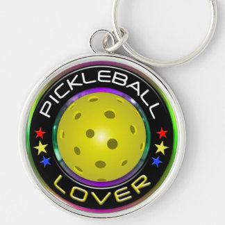 Opciones del amante 1 de Pickleball Llaveros Personalizados