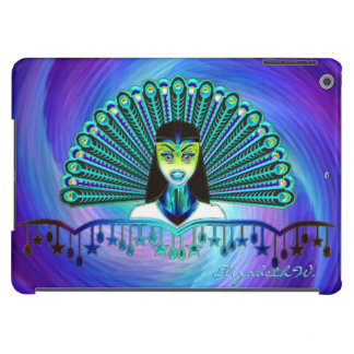 Opciones del arte 1 del pavo real funda para iPad air