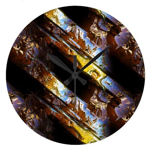 Opciones del reloj del arte 2-3 del metal de la ci