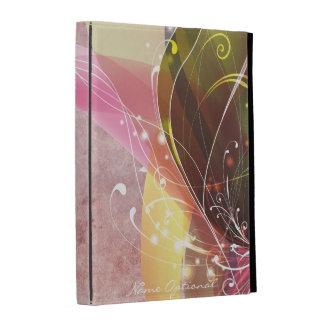 Opciones en folio del caso del iPad del arte abstr