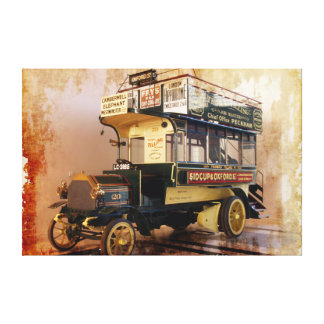 Opciones envueltas de la lona del arte 5 viejos de impresión en lienzo estirada