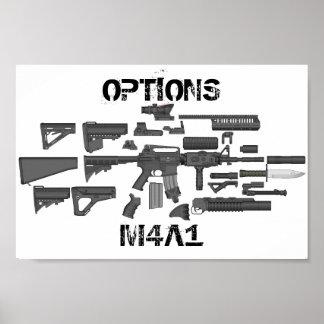 Opciones M4A1 Impresiones