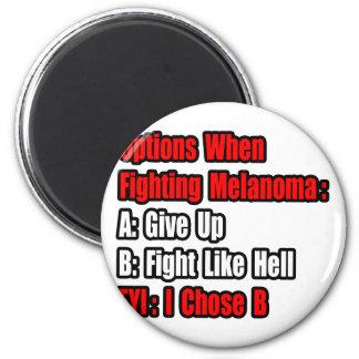 Opciones que luchan del melanoma iman