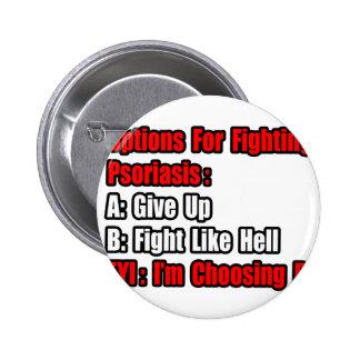 Opciones que luchan del psoriasis pin
