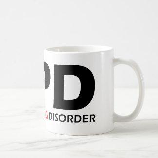 OPD - Obsessive Pug Disorder Classic White Coffee Mug