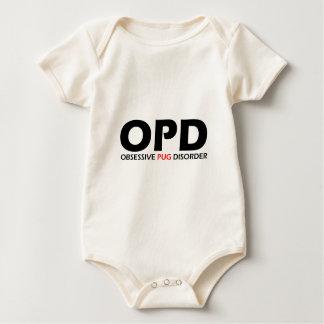 OPD - Obsessive Pug Disorder Bodysuit