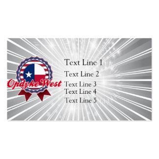 Opdyke West, TX Business Card