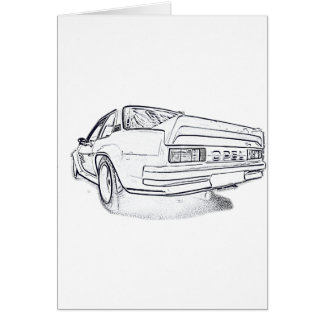 Opel Ascona i400 Card