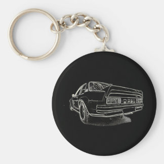 Opel Ascona i400 Keychain