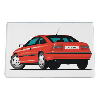 Opel Calibra Desk Business Card Holder
