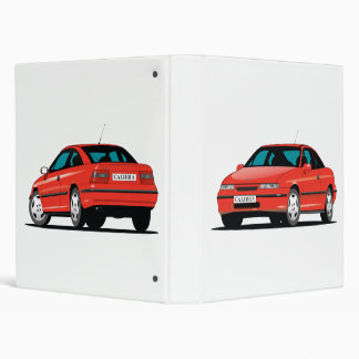 Opel Calibra red Binder
