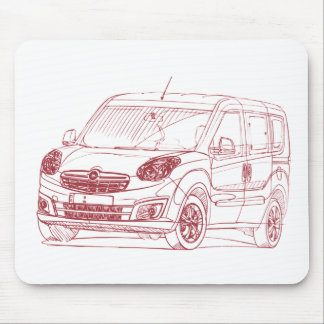 Opel Combo 2012 Mouse Pad
