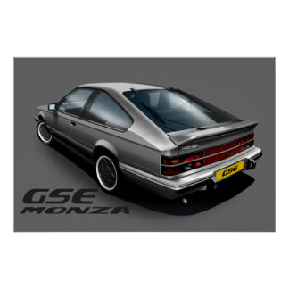 Opel Monza GSE Poster