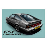 Opel Monza GSE Póster