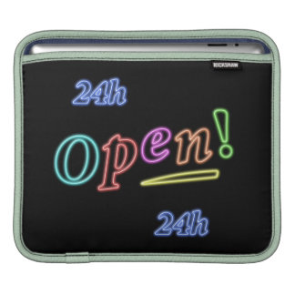 open 24 hours iPad sleeves